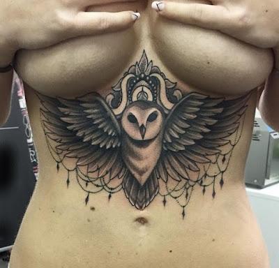 tatuajes para los pechos