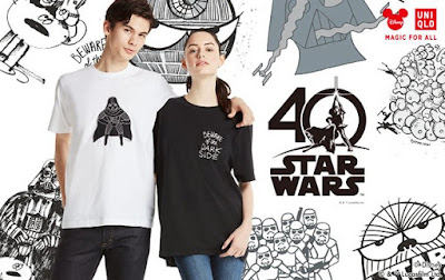 Uniqlo Star Wars 40th Anniversary Artist Collection T-Shirts by James Jarvis, Kevin Lyons & Geoff McFetridge