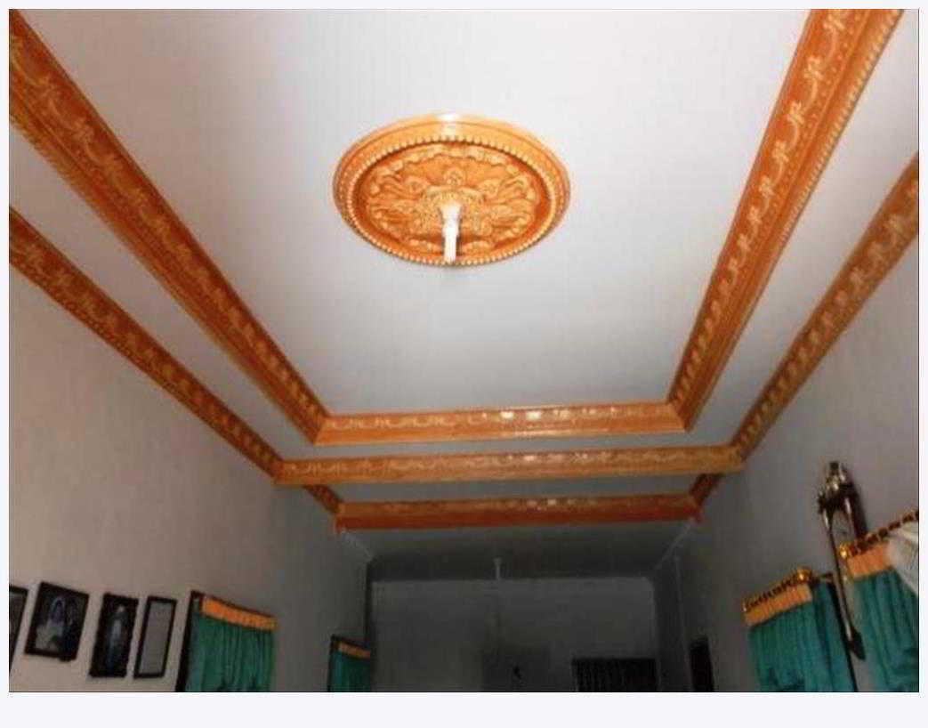 19 Contoh Kombinasi Warna Cat Plafon Ruang Tamu Yang Bagus Cantik