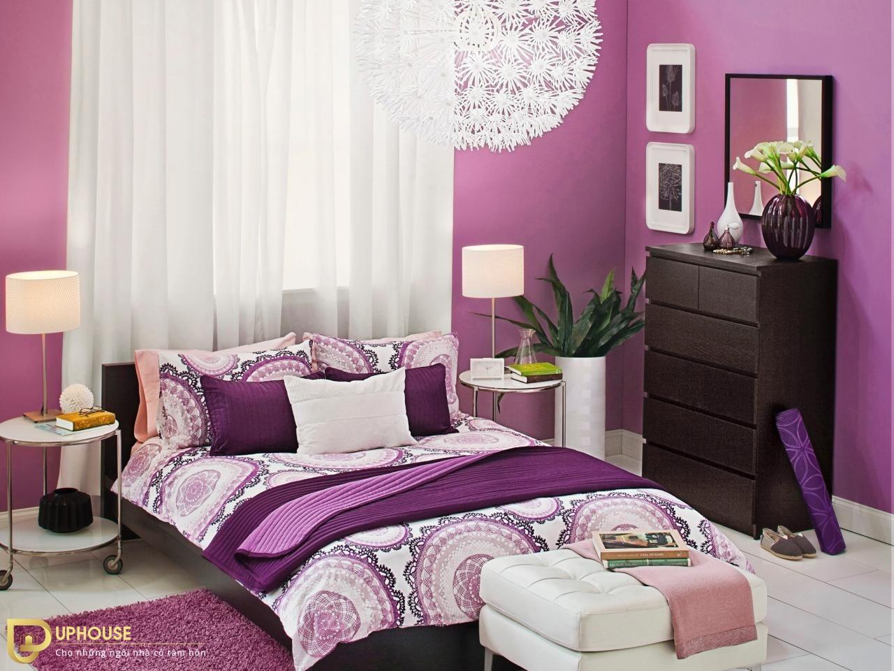 Màu sơn phòng ngủ mệnh Hỏa 07