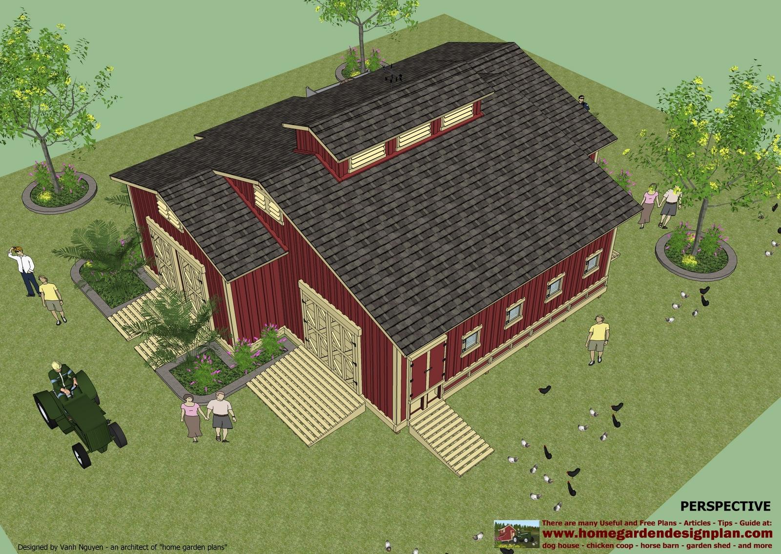 home garden plans: CS100 - Chicken coop plans - Garden ...