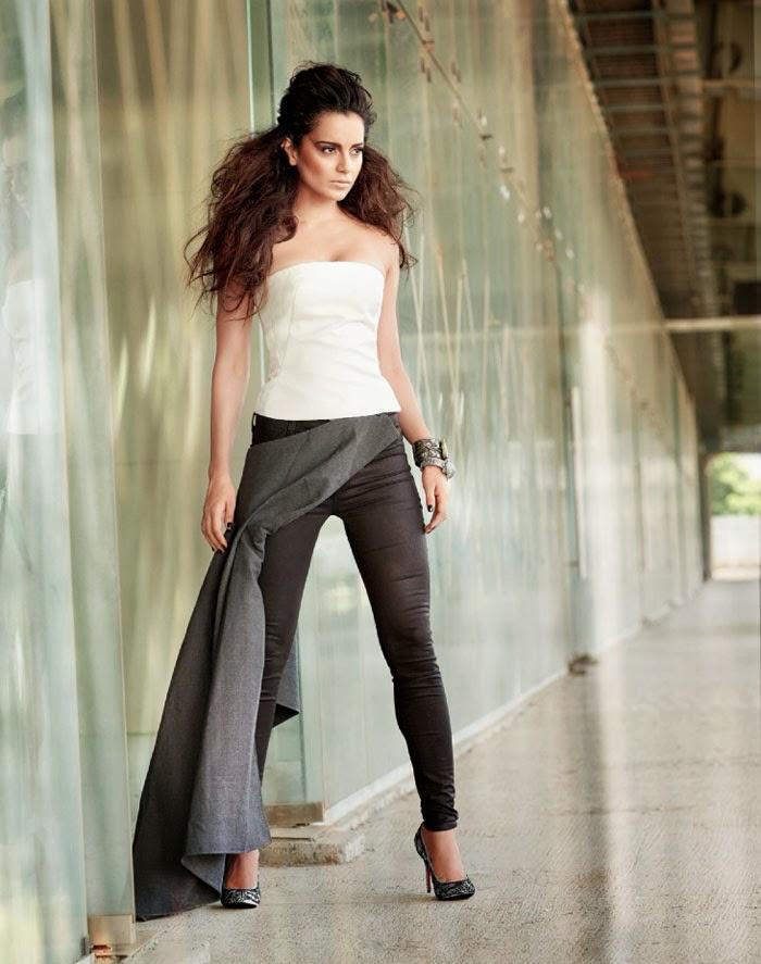 Kangana Ranaut Hot Filmfare 2013 Magazine Photoshoot