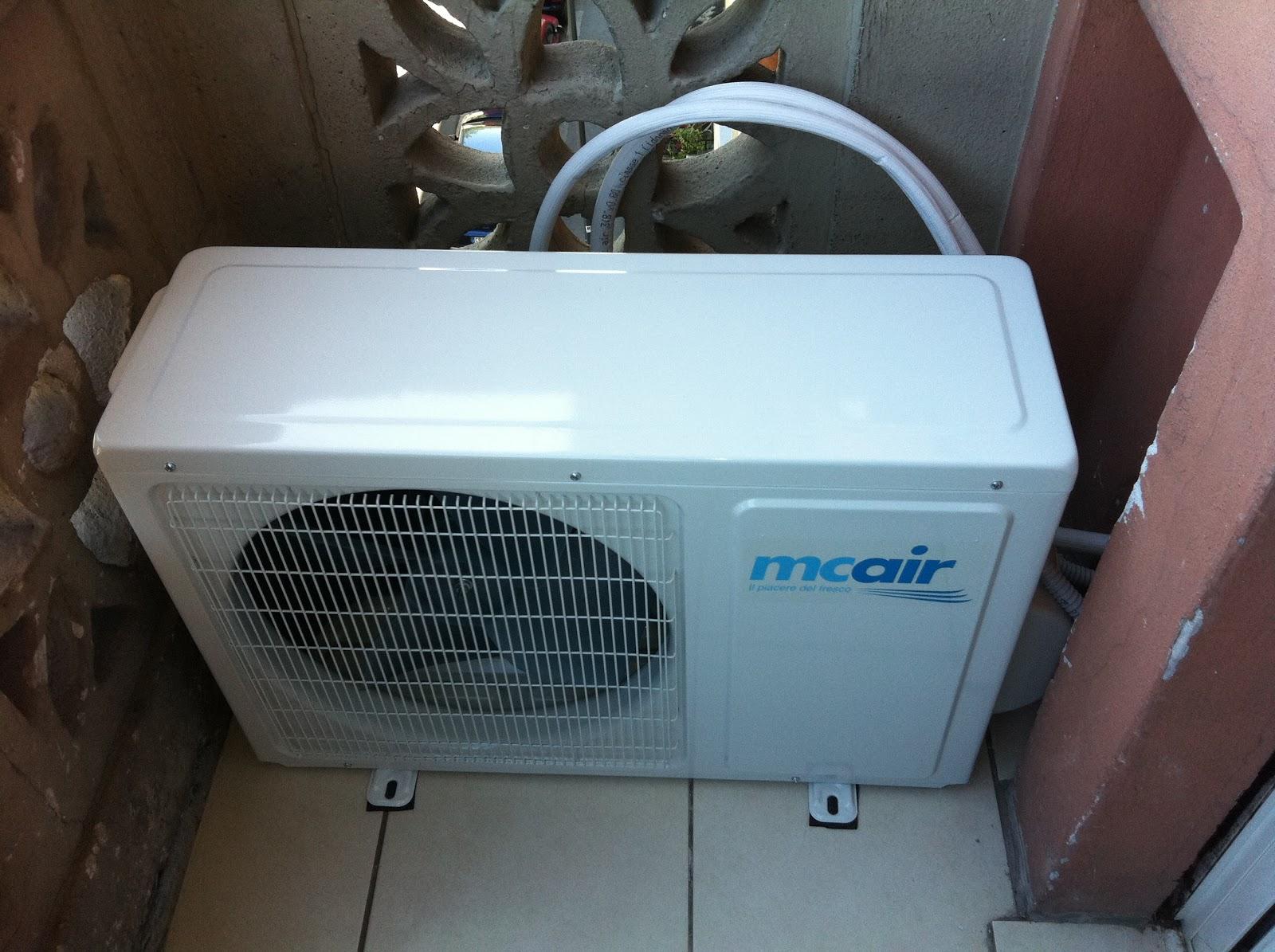 Antennista elettricista milano h s - Condizionatore unita esterna piccola ...