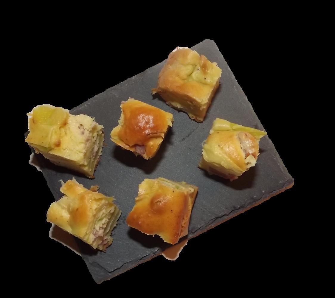Cake Lardon Poireau