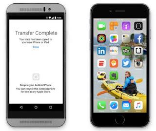 Android'den geçmeyi düşünenlerin işi artık daha kolay!