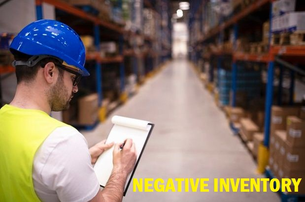 Definition of Negative Inventory