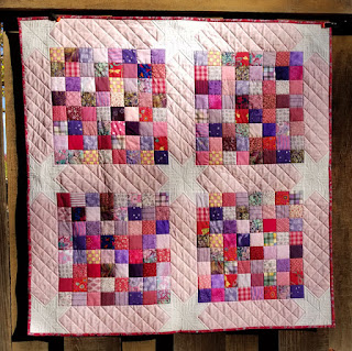 Charm-Square-Scrap-Baby-Quilt
