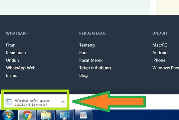 Download WhatsApp Web Pada Komputer / Laptop 2