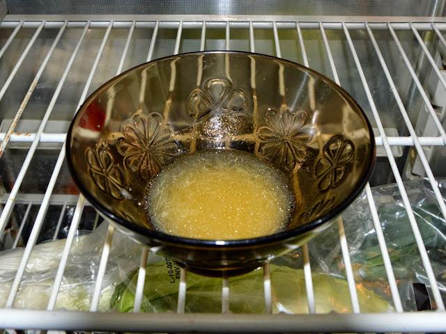 Wstawić do lodównki na 30 min.