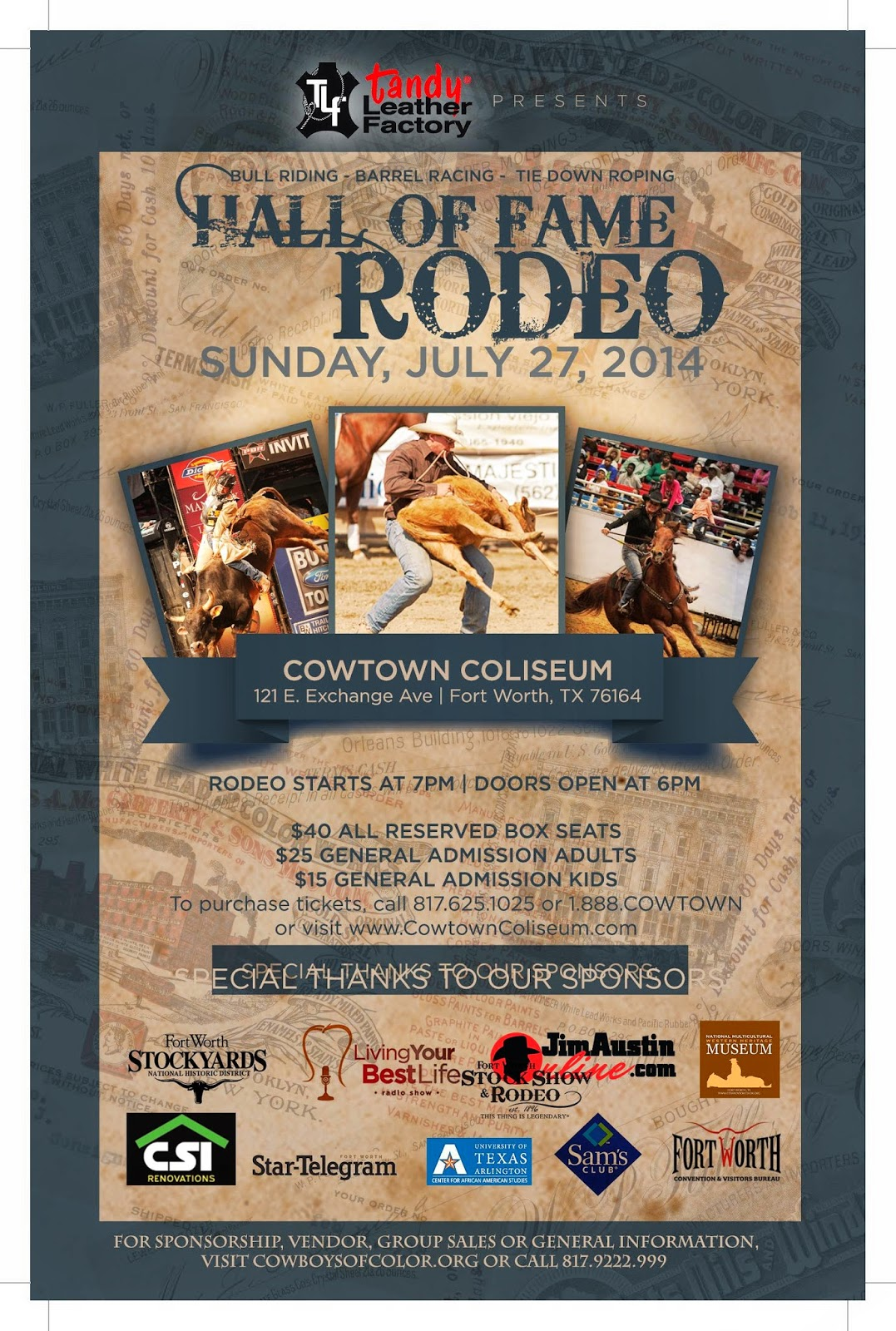 Join Living Your Best Life Radio At The Hall Of Fame Rodeo Genma Speaks