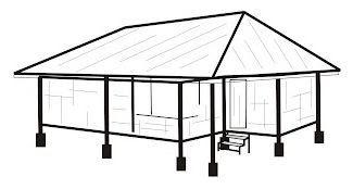 Image Result For Sketsa Bangunan Rumah