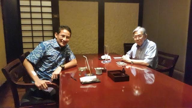Ini Peran Kwik Kian Gie untuk Prabowo-Sandi