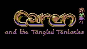 Ya disponible para descarga la aventura gráfica para C64 Caren and the Tangled Tentacles #RetroManiac