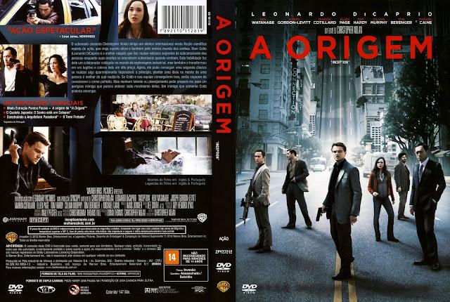Capa DVD A Origem