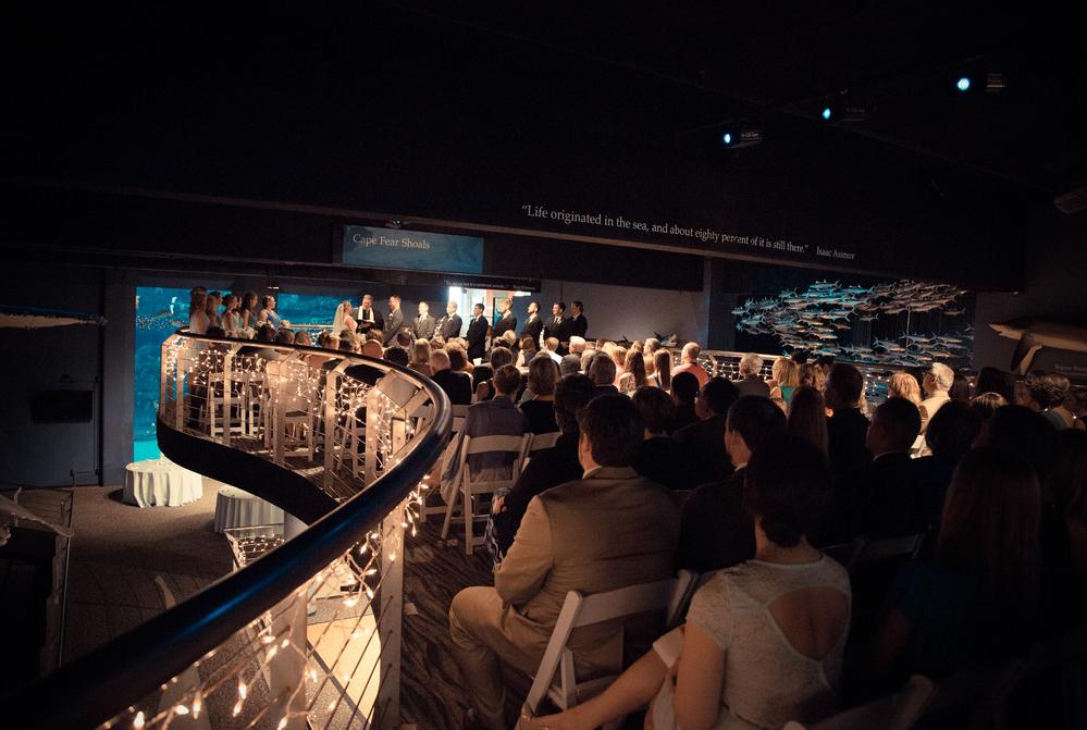 North Carolina Aquarium Wedding Venue
