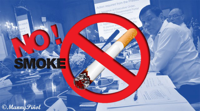 President Duterte to Sign EO on Smoking Ban