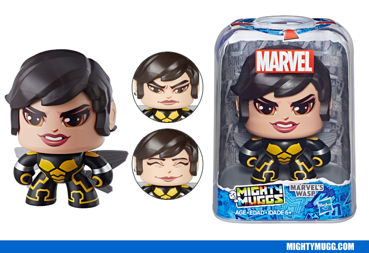 Marvels Wasp Marvel Mighty Muggs Wave 4 2018