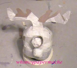 Stuart Minion Rudolph Ornament armature