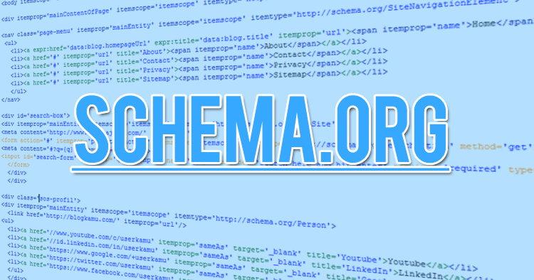 Silahkan Dicoba Susunan Schema.org Untuk Blogspot