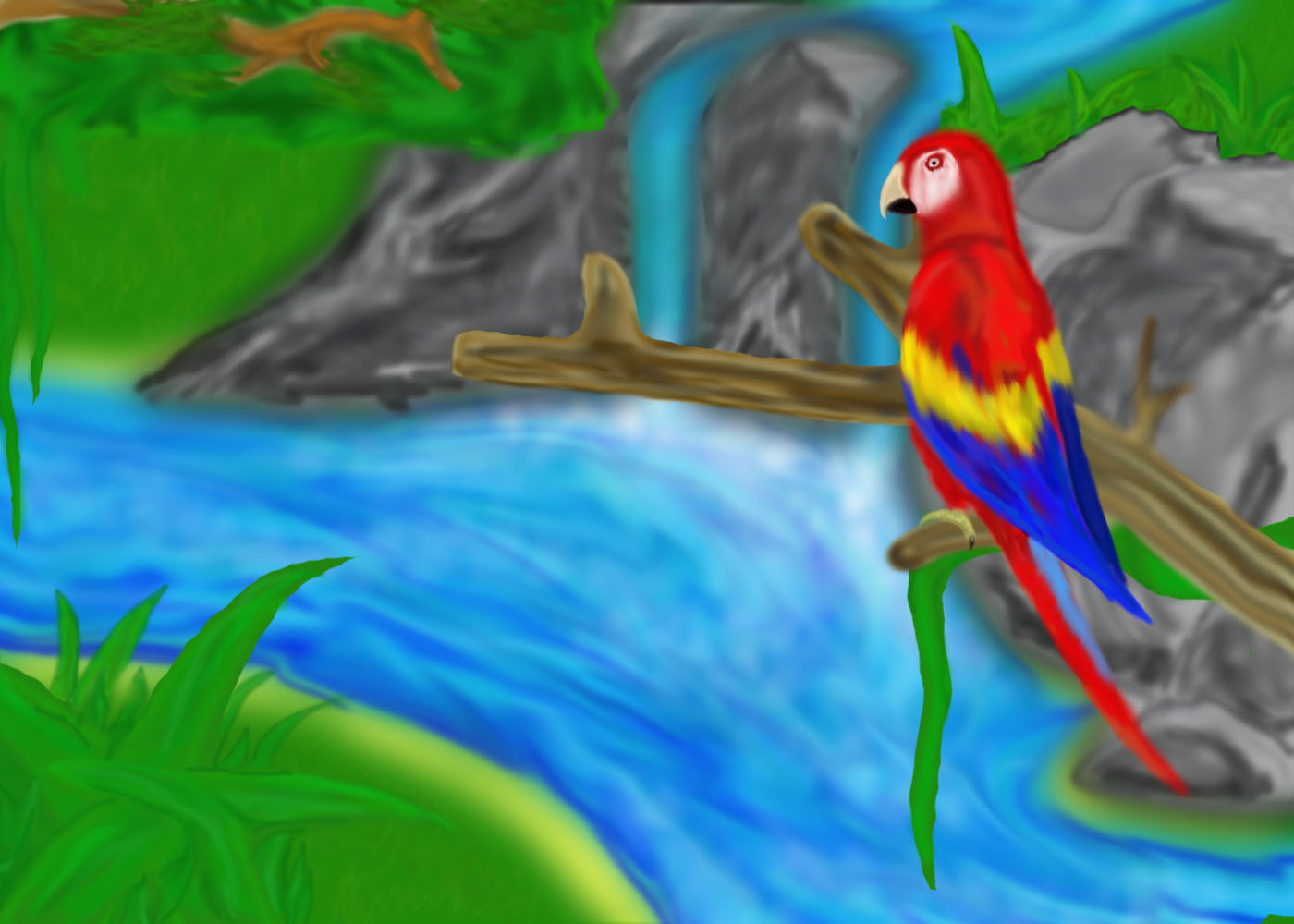 Parrot Wallpapers Pets Cute And Docile