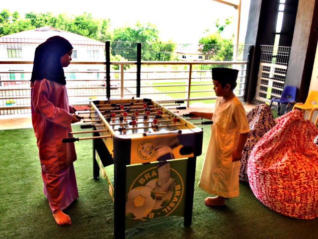 Suasana di RizQ Islamic School