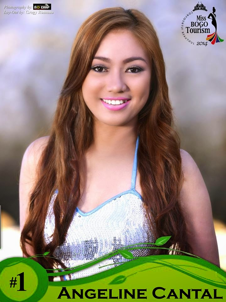 Angelie Cantal  - Miss Bogo Tourism 2014