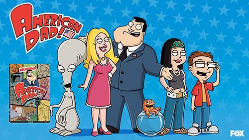 American Dad 1ª Temporada Torrent - DVDRip