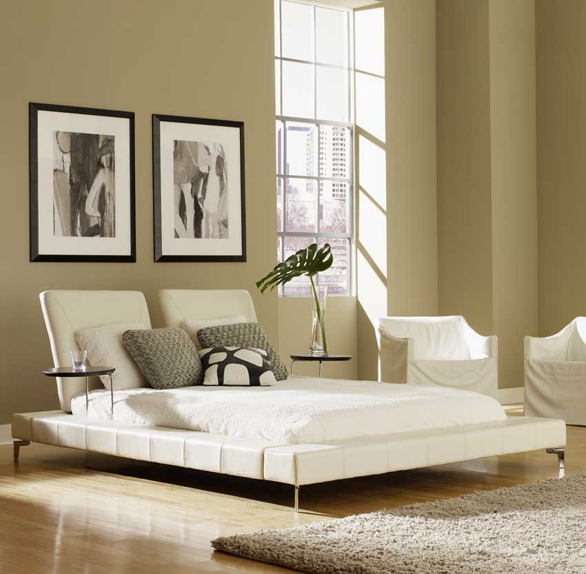 Contemporary Furniture Bed: Asian Contemporary Bedroom Furniture From HAIKU Designs