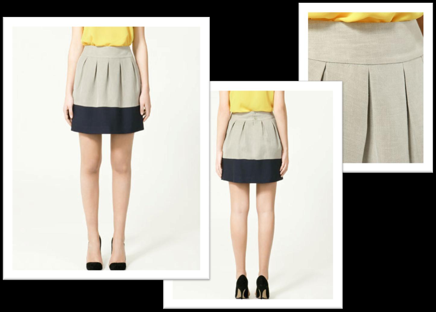 bloggers blog: my chic suggestions: ZARA skirt