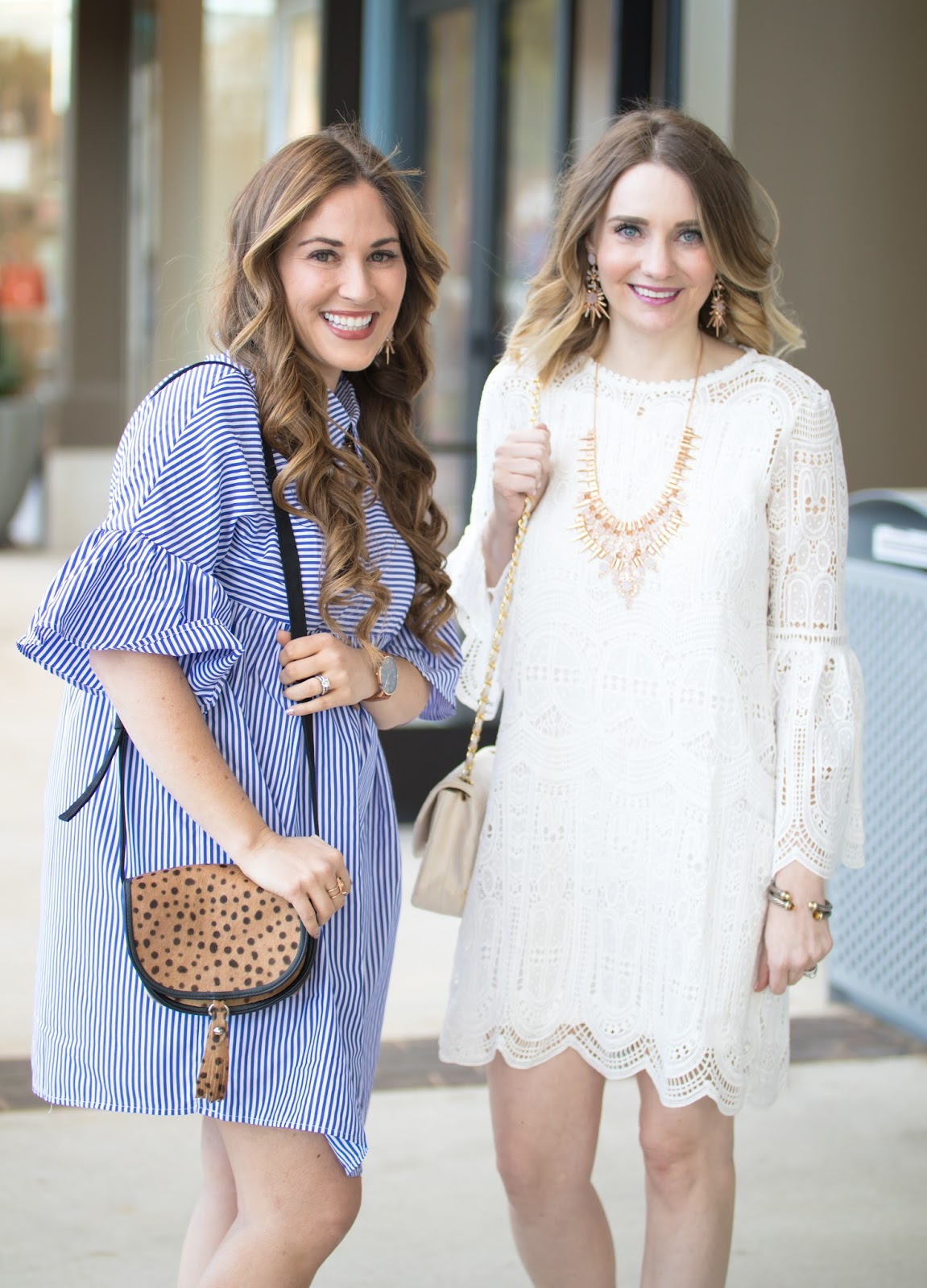 Trend Spin Linkup - Cute Spring Dresses by fashion blogger Laura of Walking in Memphis in High Heels