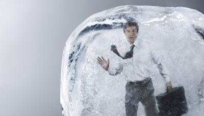 James Bedford, Cryo Tüpü, Dondurulmuş İnsan