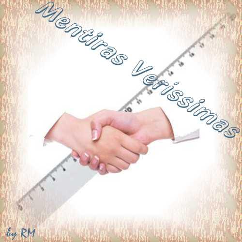 Imagem simbolizando um cumprimento (aperto de mãos) e um comprimento (régua)