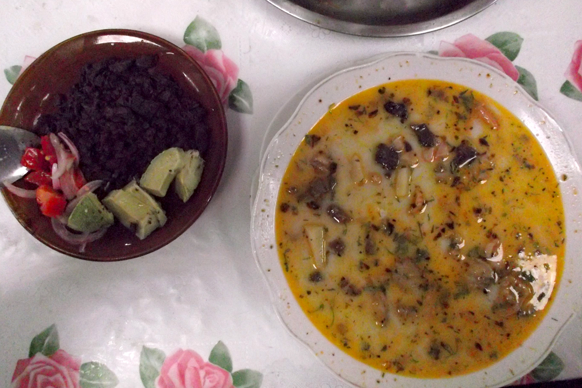 Comida Ecuatoriana Yaguarlocro