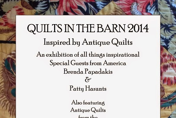 Upcoming Quilt Shows & A Denim Flower
