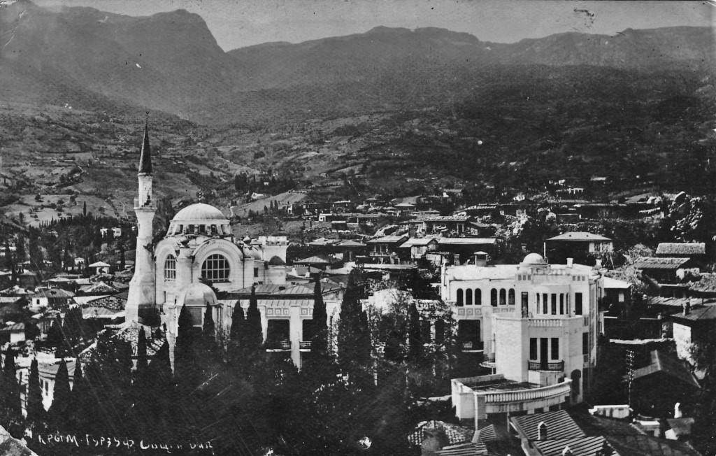 Старинное фото Гурзуфа