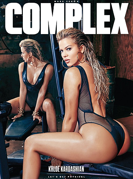 KHLOE FOR COMPLEX MAG.