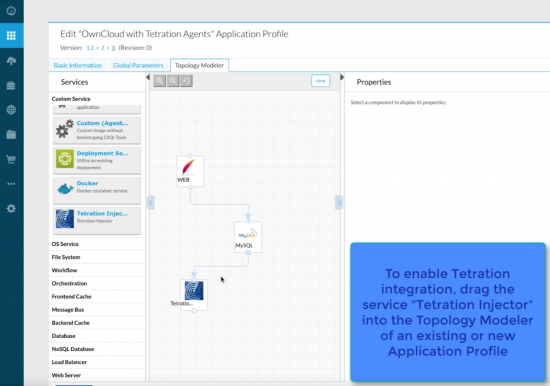 Cisco CloudCenter editor