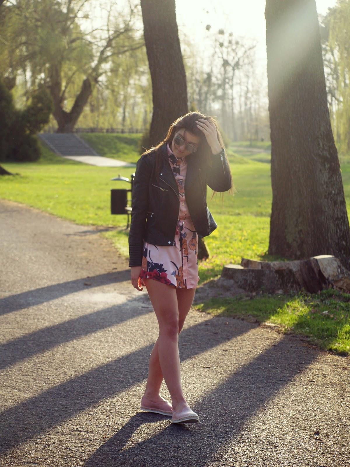 FLOWER PINK DRESS X IKRUSH