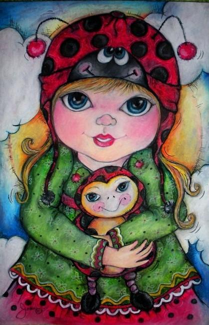 Pop Art Minis Ladybug Ladybug Hat Tricks And Huggable