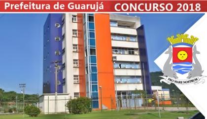 Concurso Prefeitura de Guarujá SP 2018