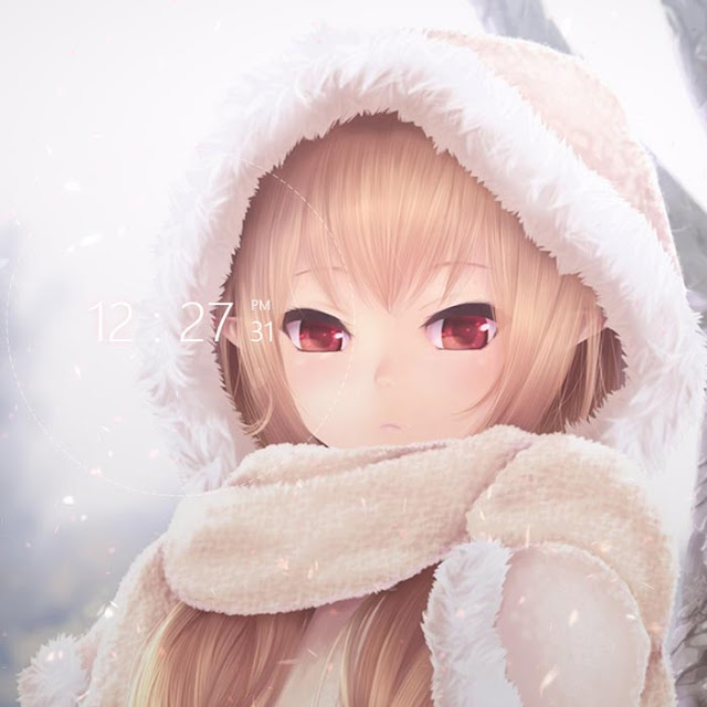 Winter Sakura Wallpaper Engine