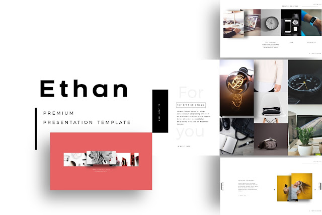 ETHAN Business Profile PowerPoint Template