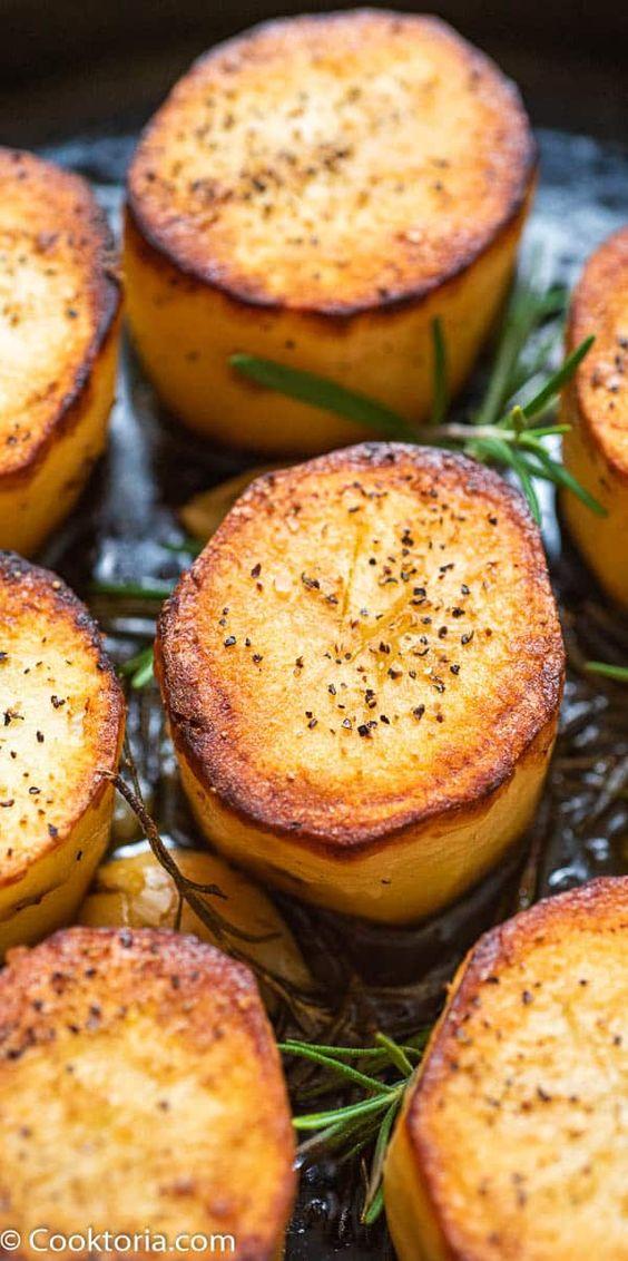 Rosemary Fondant Potatoes