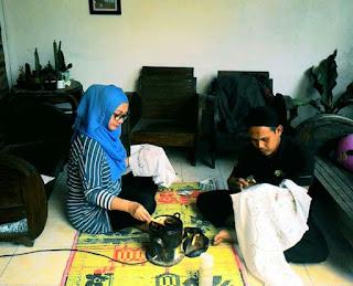 mencanting batik tulis