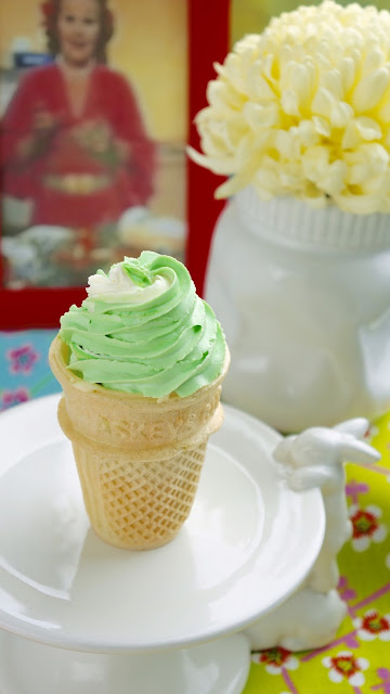 Fanny Cradock Green Cheese Ice Cream
