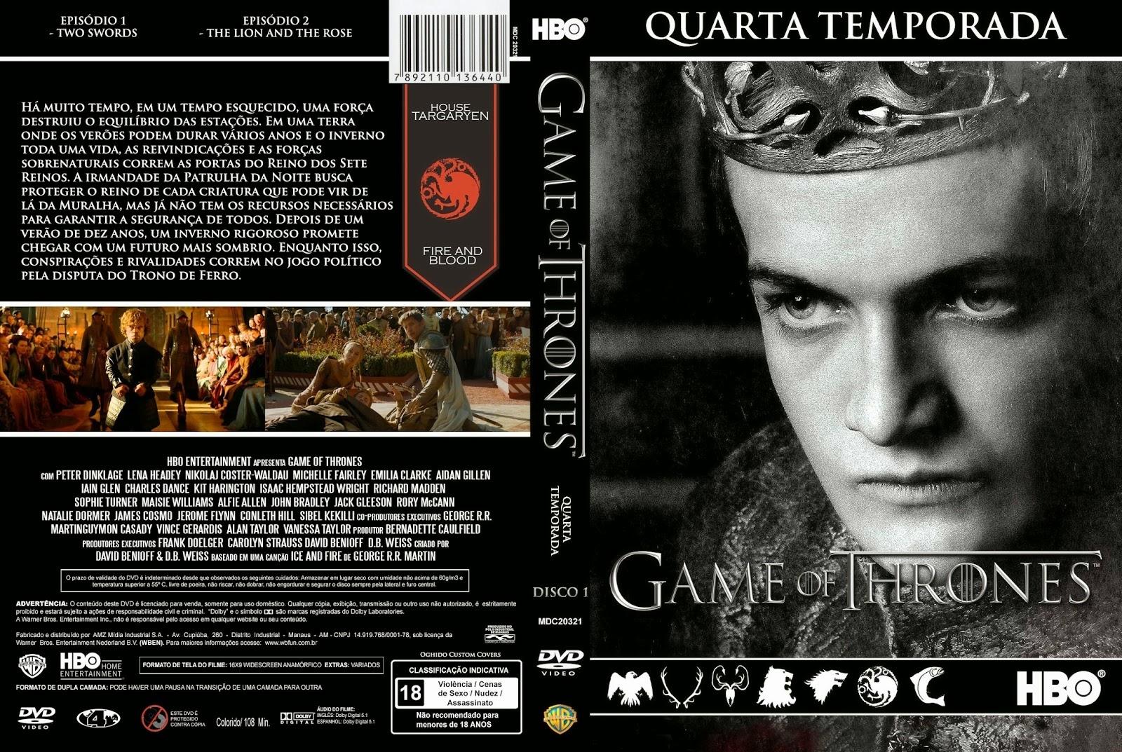 baixar 4 temporada de game of thrones dublado em hd torrent
