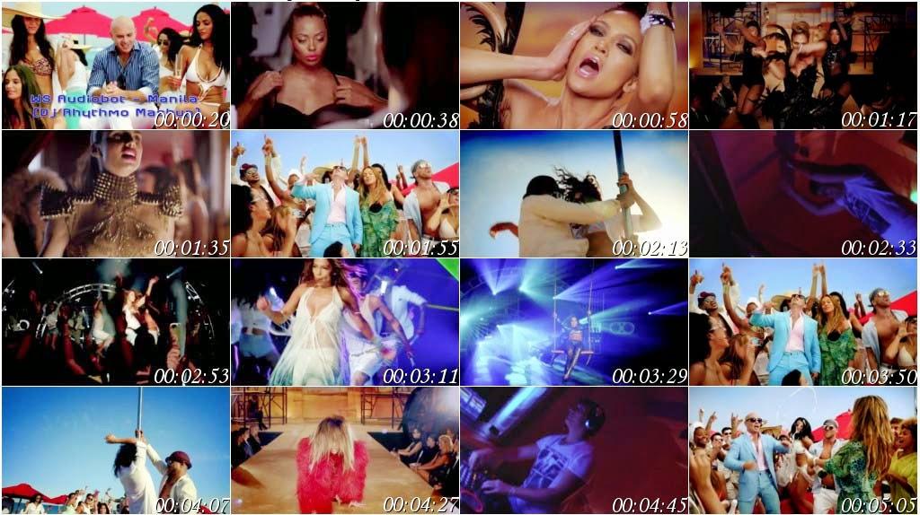 Jennifer Lopez feat Pitbull (Mashup) English Remix Video