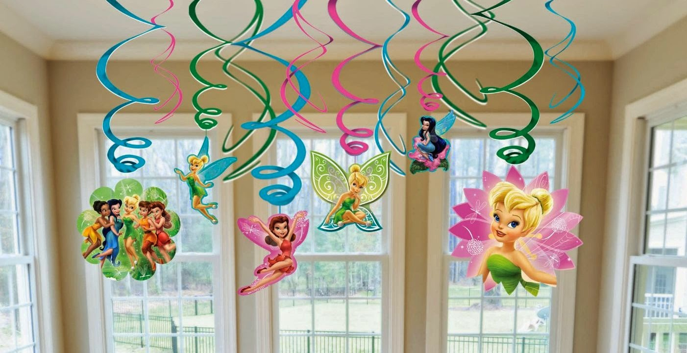 Disney Fairies Tinkerbell Themed Party Supplies And Ideas Fun Animal Pack
