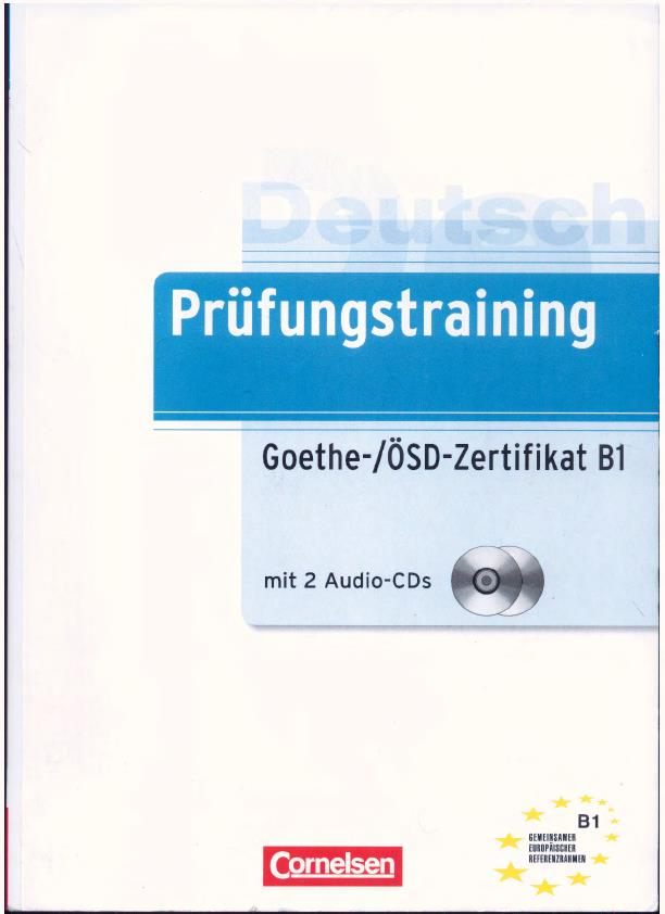 Télécharger Goethe ösd Pdf Testbuchprüfungamazongoethe