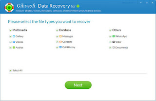 Gihosoft Android Data Recovery v7.0.5 Multilanguage Full Serial